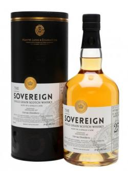 Girvan 1991 / 25 Year Old / Sovereign Single Grain Scotch Whisky