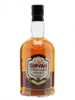 Girvan / Celebrating 40 Years of Distilling Single Grain Scotch Whisky