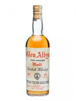 Glen Albyn 10 Year Old / Bot. 1970's Highland Whisky