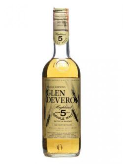 A bottle of Glen Deveron 5 Year Old / Bot.1980s Speyside Single Malt Scotch Whisky
