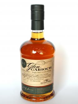 A photo of the frontal side of a bottle of Glen Garioch 12 year