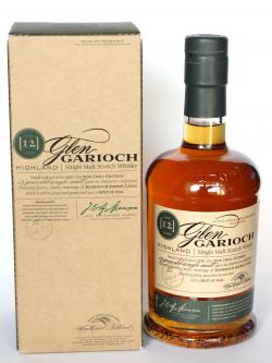 A bottle of Glen Garioch 12 year