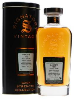 Glen Keith 1992 / 21 Year Old / Cask #120566+9 / Signatory Speyside Whisky