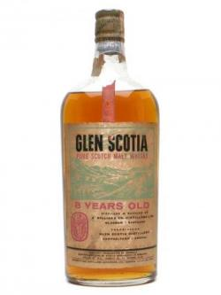 Glen Scotia 8 Year Old / Bot.1960s Campbeltown Whisky