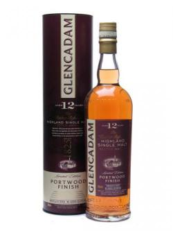 Glencadam 12 Year Old Portwood Finish Highland Single Malt Whisky