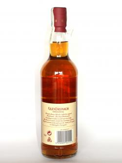 Glendronach 12 year Back side