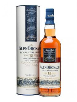 Glendronach 15 Year Old Tawny Port Finish Speyside Whisky