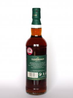 Glendronach 15 year Revival Back side