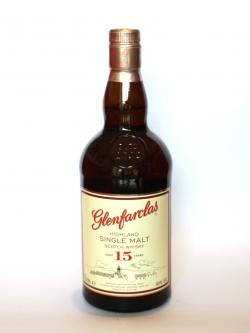 Glenfarclas 15 year Front side