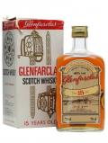A bottle of Glenfarclas 15 Year Old / Bot.1980s Speyside Single Malt Scotch Whisky