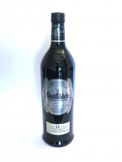 A photo of the frontal side of a bottle of Glenfiddich 12 year Caoran Reserve