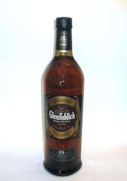 Glenfiddich 15 year Front side