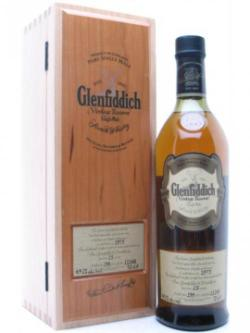 A bottle of Glenfiddich 1973 / 25 years old Speyside Single Malt Scotch Whisky