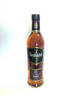 Glenfiddich 21 year Front side