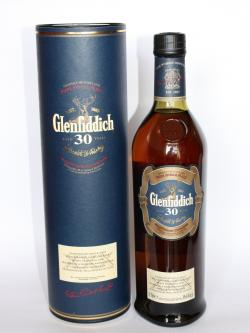 A bottle of Glenfiddich 30 year