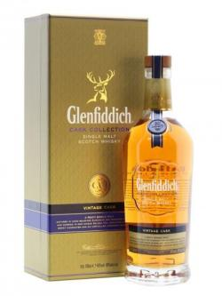 A bottle of Glenfiddich Vintage Cask Speyside Single Malt Scotch Whisky