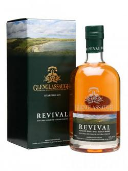 A bottle of Glenglassaugh Revival