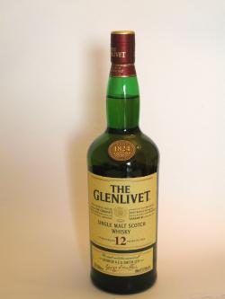 Glenlivet 12 year Front side