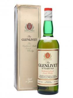 Glenlivet 12 Year Old / Bot.1970s Speyside Single Malt Scotch Whisky
