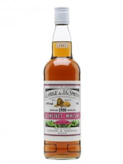Glenlivet 1950 / Gordon& Macphail Speyside Single Malt Scotch Whisky