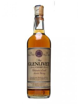 Glenlivet 34 Year Old / 150th Anniversary Speyside Whisky