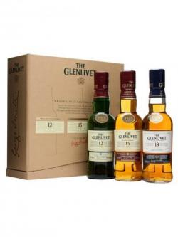 Glenlivet Tasting Experience Set / 12,15& 18 Year Old Single Whisky