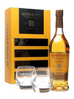 Glenmorangie 10 Year Old Glass Pack Highland Single Malt Scotch Whisky