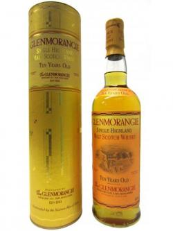 Glenmorangie Single Highland Malt 10 Year Old