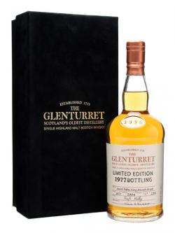 Glenturret 1977 / 27 Year Old Highland Single Malt Scotch Whisky