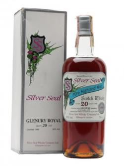 Glenury Royal 1980 / 20 Year Old / Silver Seal Highland Whisky