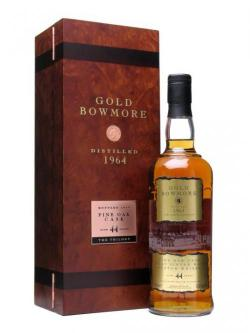 Gold Bowmore 1964 / 44 Year Old Islay Single Malt Scotch Whisky