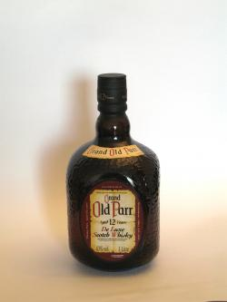 Grand Old Parr 12 year Front side