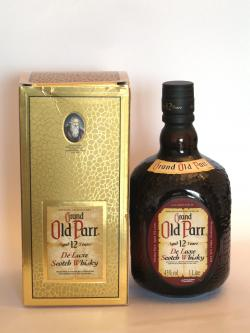 Grand Old Parr 12 year