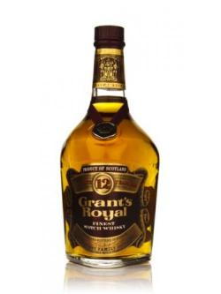 Grant's Royal 12 Year Old 75cl
