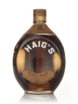 A bottle of Haig Dimple 70 Proof 26 2/3 Fl. Ozs.