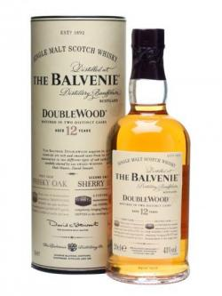 Balvenie 12 Year Old / Double Wood / Small Bottle Speyside Whisky