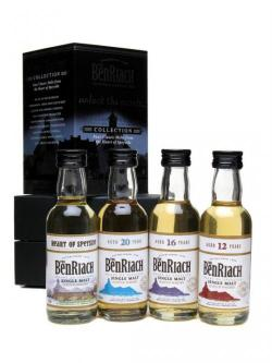 Benriach Classic Speyside Collection / 4 x 5cl Miniatures