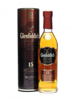 Glenfiddich 15 Year Old / Small Bottle Speyside Whisky