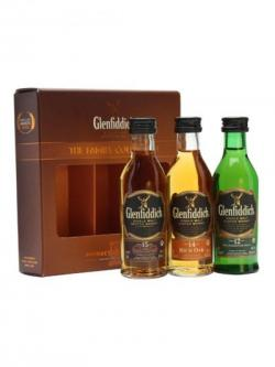 Glenfiddich Family Collection / 12, 14& 15 Year Old / 3x5cl Speyside Whisky
