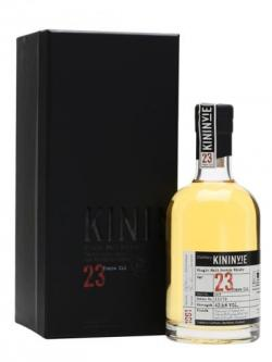 Kininvie 1991 / 23 Year Old / Batch 3 / Half Bottle Speyside Whisky
