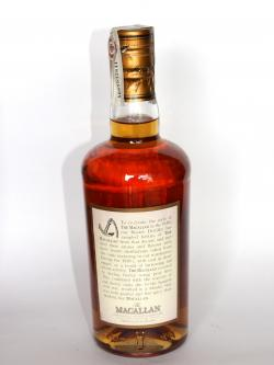 Macallan Thirties Back side