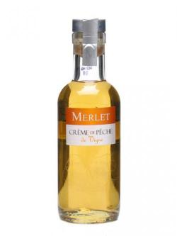 Merlet Creme de Peche (Peach) Liqueur / Small Bottle