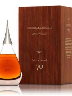 A bottle of Mortlach 70 Year Old 20cl