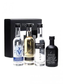 Penderyn Distillery Mini Pack / 4 x 5cl Miniatures