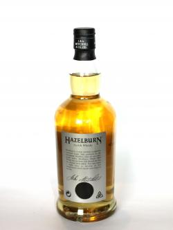 Hazelburn 8 year Back side