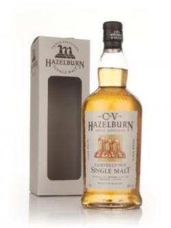 A bottle of Hazelburn CV