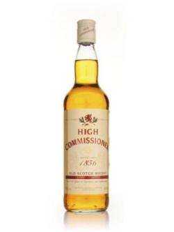 A bottle of High Commissioner