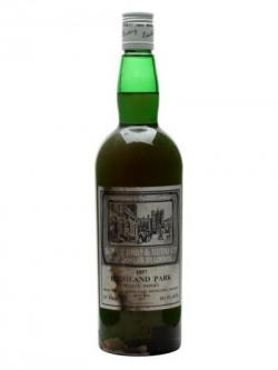 Highland Park 1957 / Bot.1977 / Berry Bros& Rudd Island Whisky