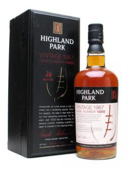 Highland Park 1967 / 36 Year Old Island Single Malt Scotch Whisky