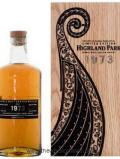 A bottle of Highland Park 1973 Vintage